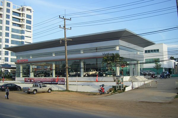 New Showroom Toyota Songkhla