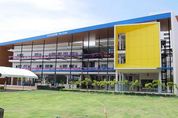 อาคารอนุบาล 3 ชั้น โรงเรียนธิดานุเคราะห์
